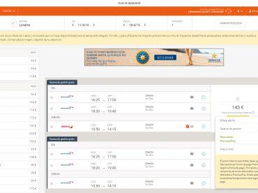 Turismo desestima la denuncia de la OCU contra Destinia por el cobro de gastos por tarjeta en billetes de avión