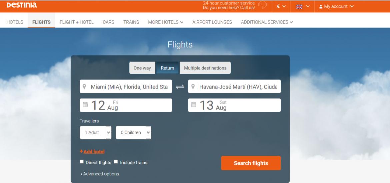 vuelo-Destinia-Miami-La-Habana