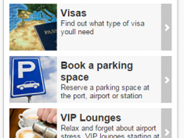 Destinia offers access to VIP lounges in more than 160 airports
