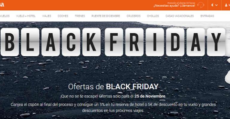 Sea cual sea tu destino, llegan las ofertas 'Black Friday'