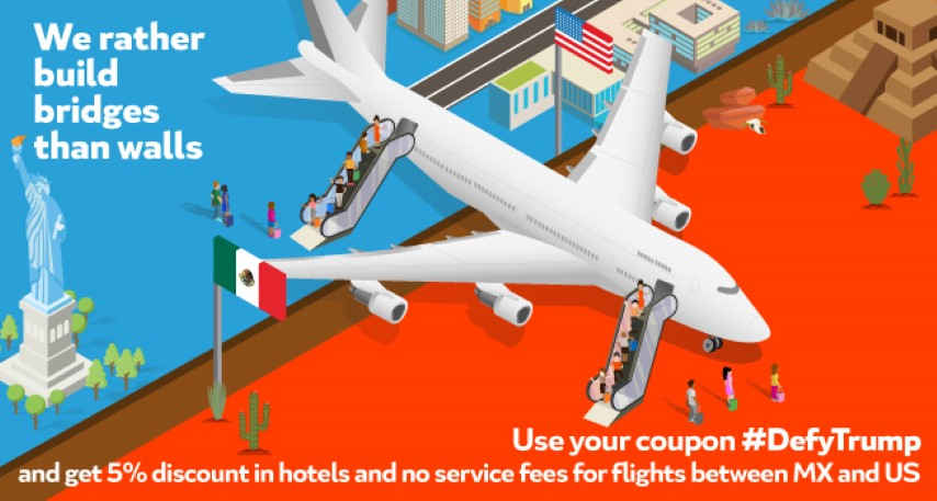 Destinia-promote-to travel-to-mexico