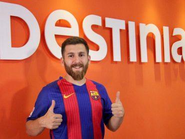 Destinia signs Messi's Iranian double