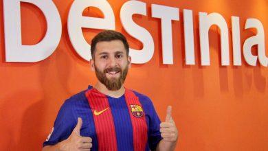 El doble iraní de Messi ficha por Destinia
